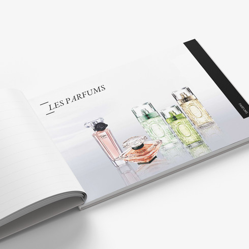 P132-133 Lancome - Horizontal Book - Moc
