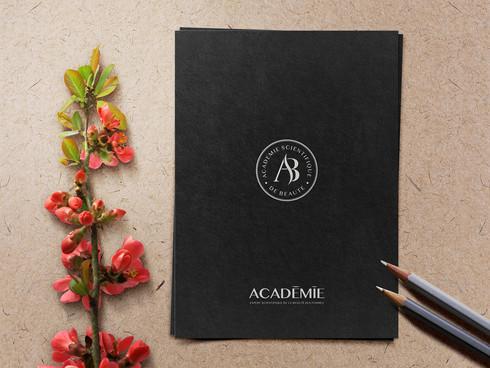ACADEMIE BEAUTE SIGLE 1 - Artwork Paper