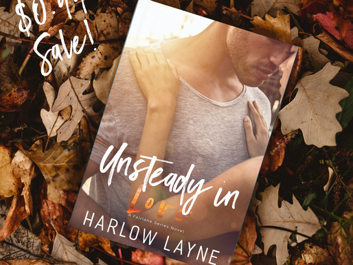 Unsteady in Love is on SALE!