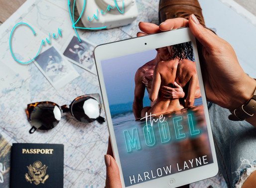 Cover Reveal: The Model by Harlow Layne