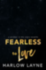 Fearless to Love placement cover.