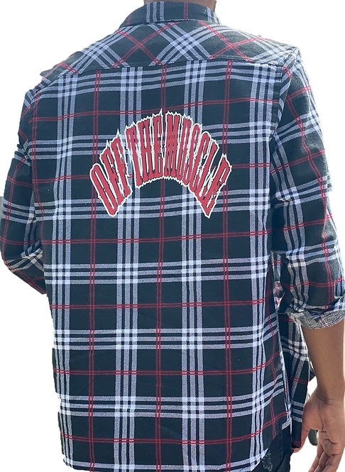 OFF THE MUSCLE FLANNEL SHIRT