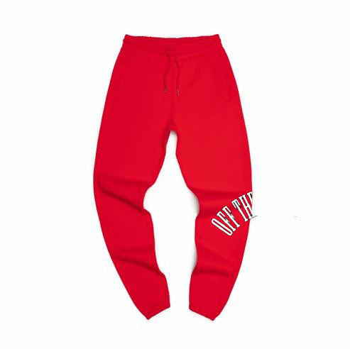 RED ARCH PANTS