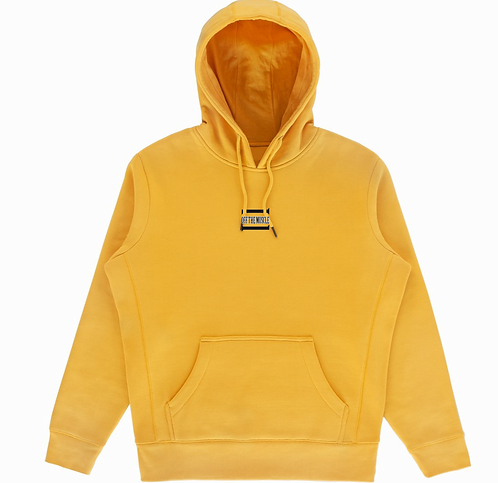 YELLOW MUSTARD OFF THE MUSCLE W/ DESIGNED HOOD
