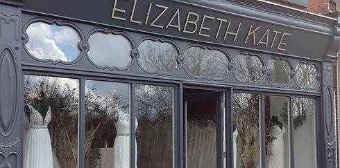 Elizabeth Kate Bridal Wedding Dress Shop in Crowle Scunthorpe Front