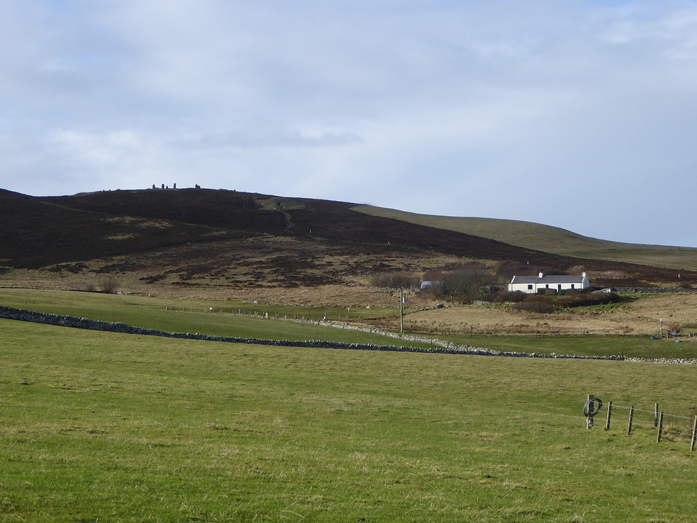 Orkney holiday cottage at Cuween Hill tomb