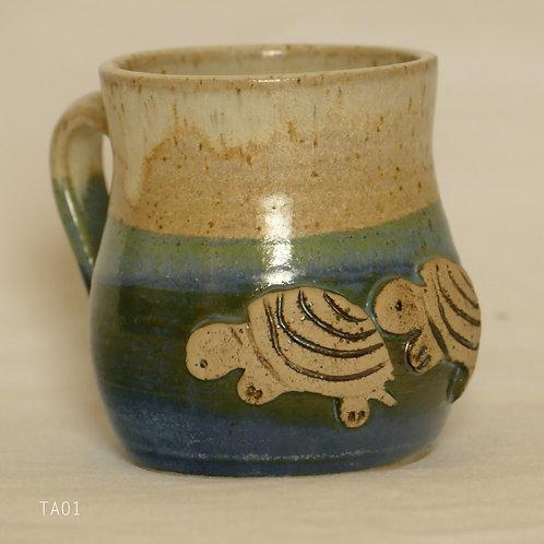 Kaffeehäferl - handgetöpfert