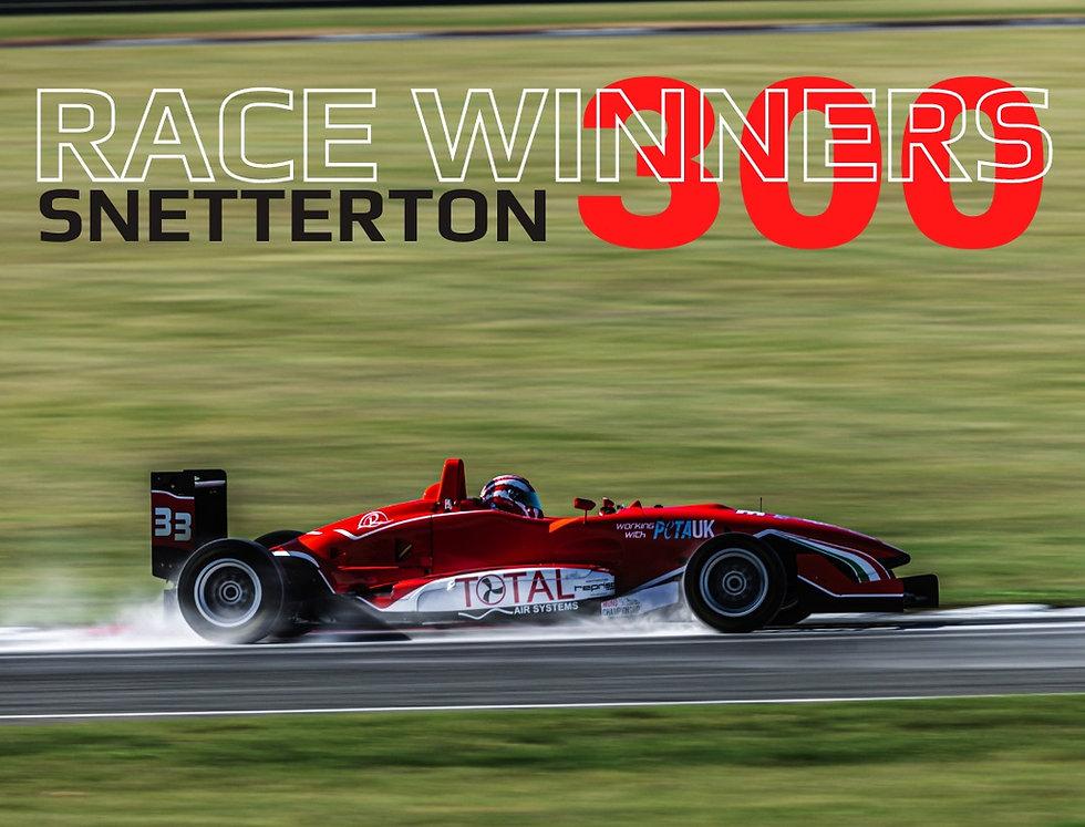 ANOTHER RACE WIN @SNETTERTON FOR SFR