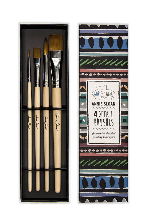 Annie Sloan Detail Brushes (Set of 4)