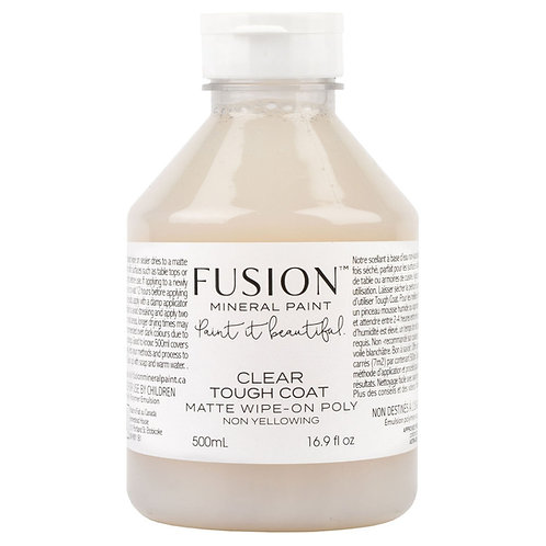 Fusion Mineral Paint Clear Tough Coat Matt