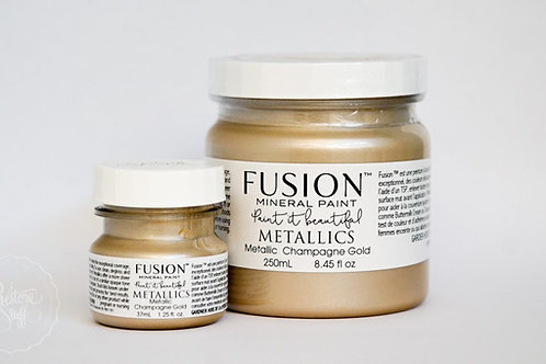 Fusion Mineral Paint™ Metallic Champagne Gold