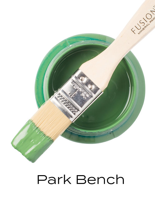 Fusion Mineral Paint™ Park Bench Green