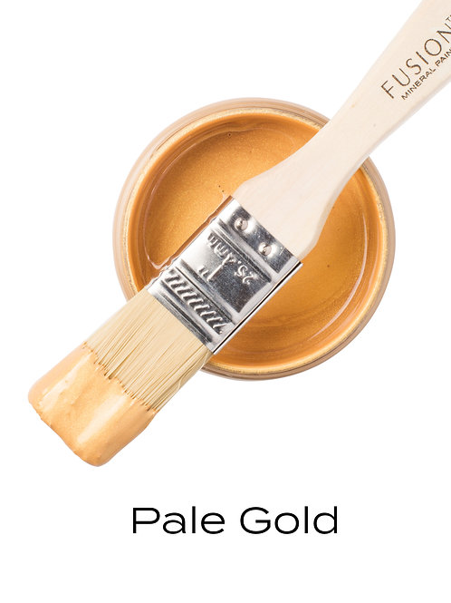 Fusion Mineral Paint™ Metallic Pale Gold
