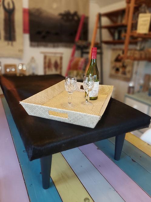 Large Cowhide Coffee Table/Footstool