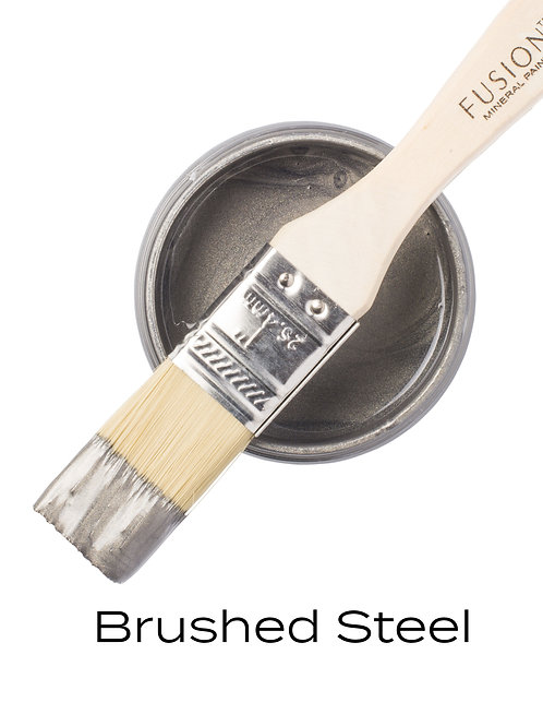 Fusion Mineral Paint™ Brushed Steel