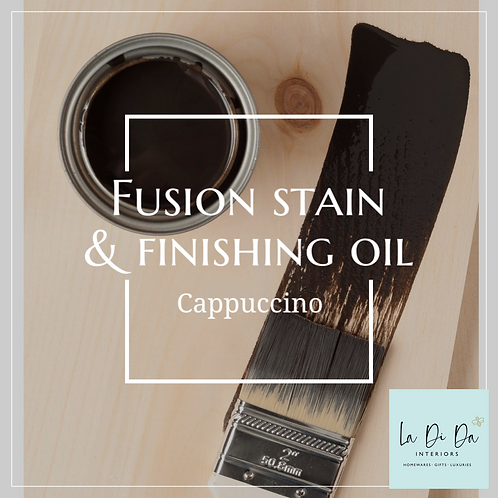 Fusion Mineral Paint™ Stain & Finishing Oil Cappuccino