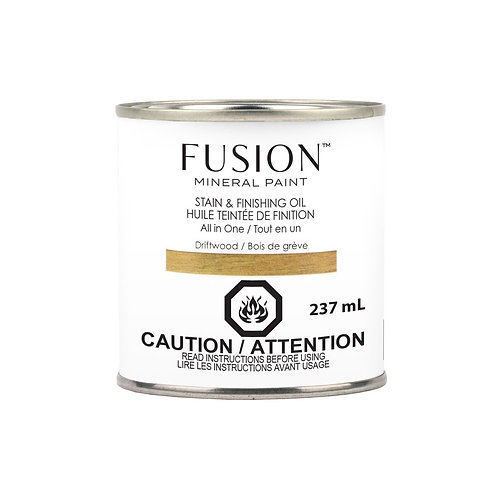Fusion Mineral Paint™ Stain &Finishing Oil Driftwood