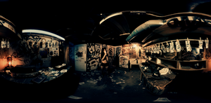 DimensionGate Creates Highly Stylized 360° Music Video for