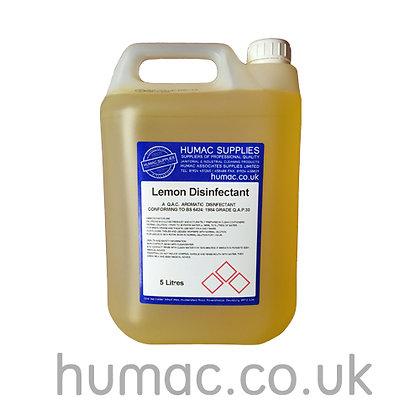 5L - LEMON DISINFECTANT - 5 LITRES - OLS