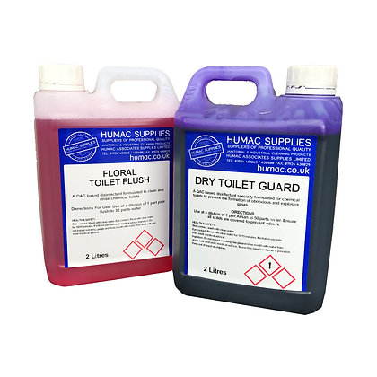 PINK & BLUE TOILET TANK FLUID (2LB+2LP) - OLS