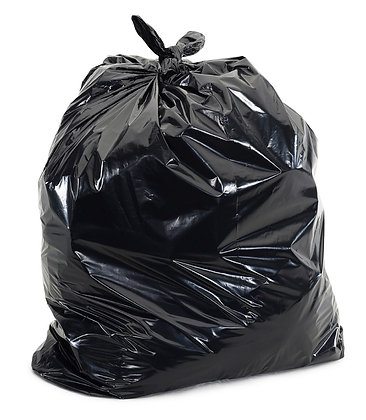LIGHT DUTY - BIN BAGS (200 PER BOX) - OLS