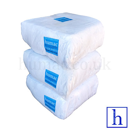 30KG WHITE LINT FREE SHEETING - WIPING CLOTH RAGS - OLS