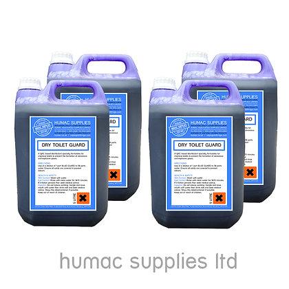 20L - BLUE TOILET TANK FLUID - PORTABLE TOILET CHEMICAL (20LB) - OLS