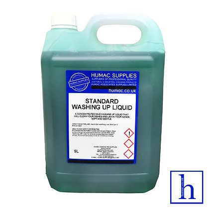 5L - STANDARD WASHING UP LIQUID - 5LITRES - OLS