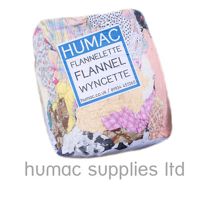 10KG FLANNELETTE - FLANNEL - WIPING CLOTH RAGS - OLS