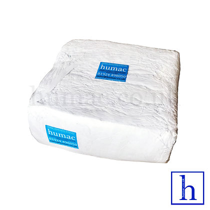 10KG WHITE LINT FREE SHEETING - WIPING CLOTH RAGS - OLS