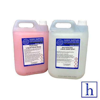 Perfumed Pearlised & Antibacterial Bactericidal Hand Soap 2X5L  - OLS