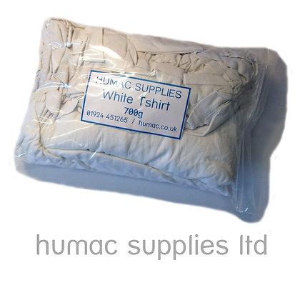 White T Shirt - 700g (Small Bag / Sample)  - OLS