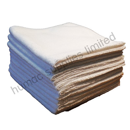 Micro Fiber Cloths WHITE (10 PACK) - OLS