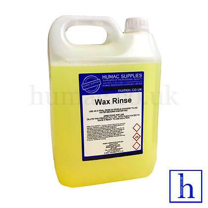 5L - WAX & RINSE AID AUTO VALETING PAINT WORK PROTECTION - OLS