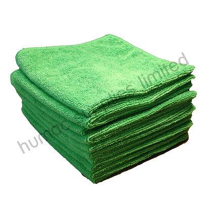 Micro Fiber Cloths GREEN (10 PACK)  - OLS