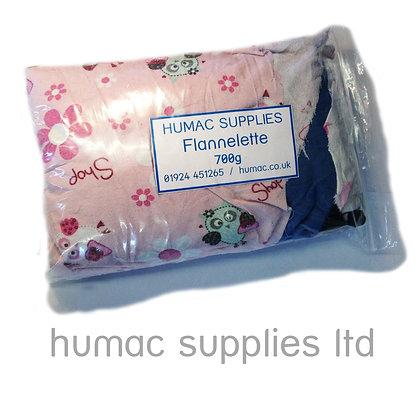 FLANNELETTE - 700g (Small Bag/Sample) - OLS