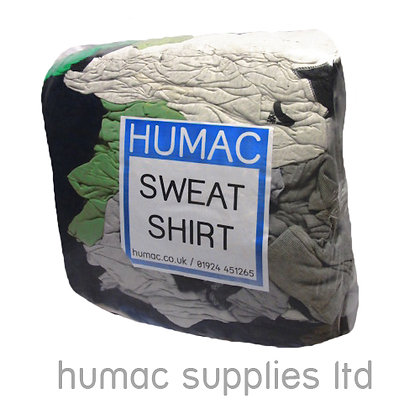 10KG SWEATSHIRT - WIPING CLOTH RAGS  - OLS