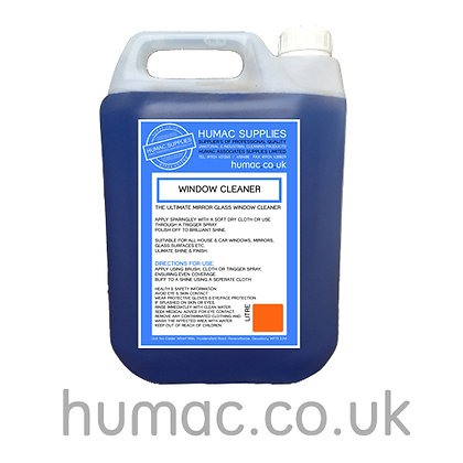 5L - WINDOW GLASS CLEANER 5 Litres  - OLS