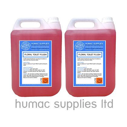 10L - Pink Toilet Tank Flush - Portable Loo (10LP) - OLS
