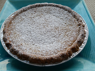 Pie or Booze? Why Choose? Bessie's Boozy Butterscotch Pie from Fancy Pies