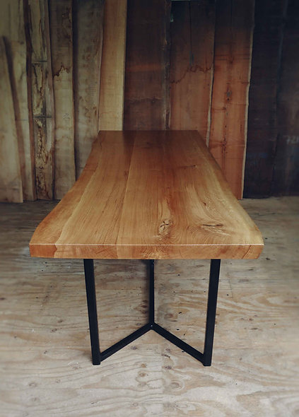 Live Edge Oak Table