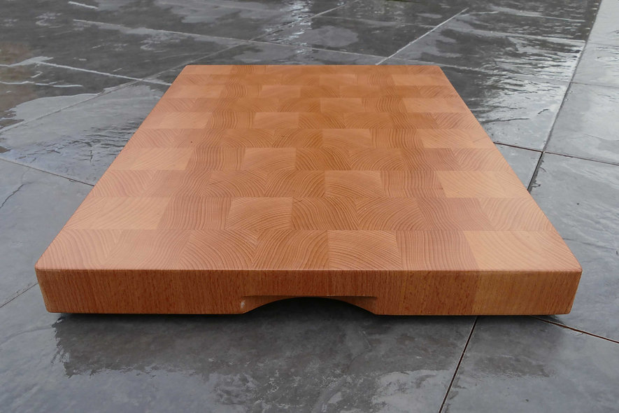 End Grain European Beech Chopping Board