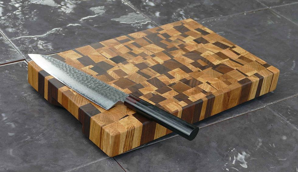 End Grain Modernist Chopping Board