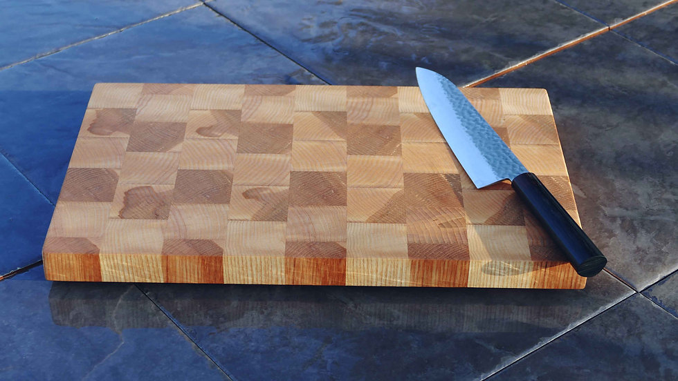 Ash End Grain Chopping Board