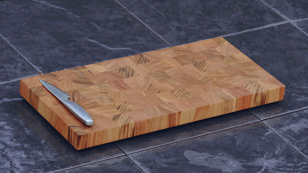 Cherry End Grain Chopping Board