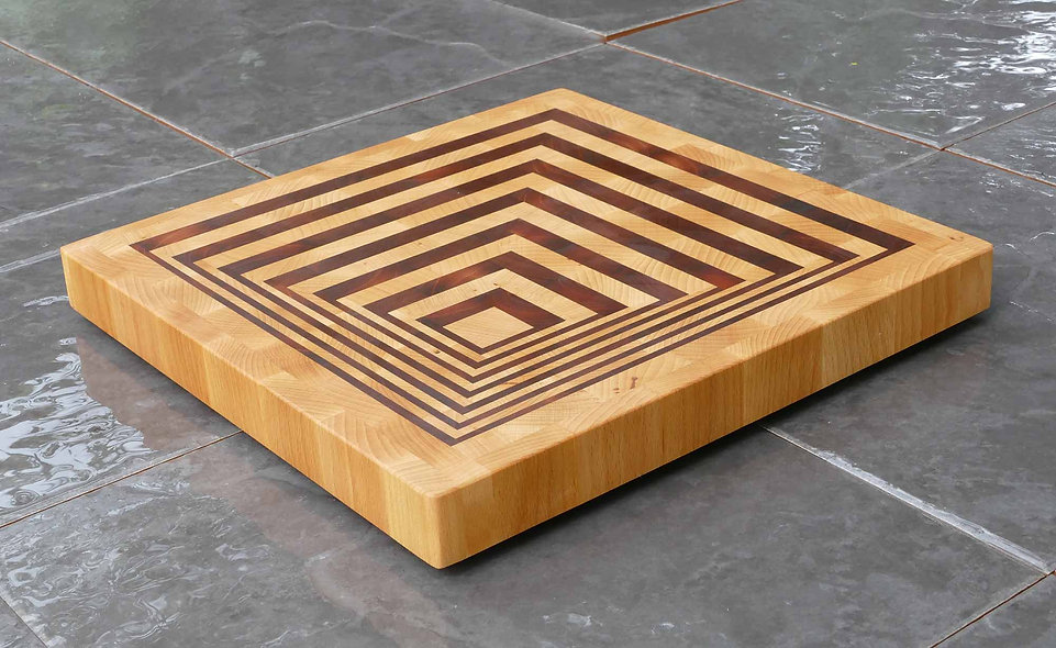 End Grain Perspective Chopping Board