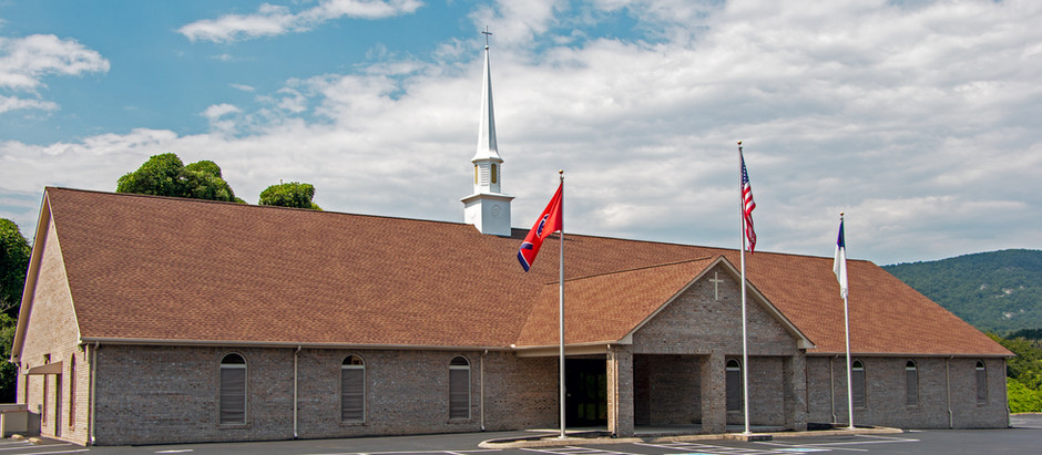 Front of New Church Building
