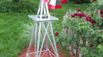 6ft Decorative Garden Windmill