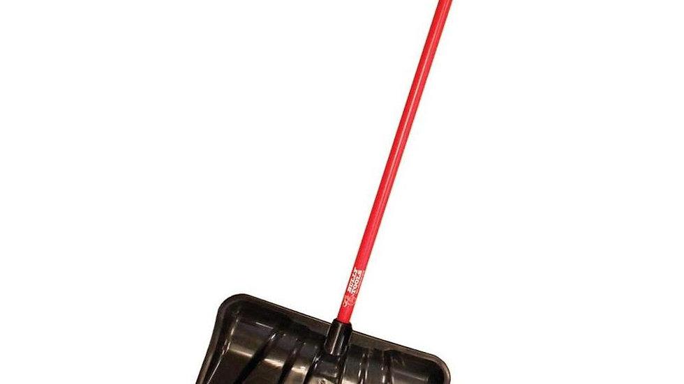 92814 22″ Combination Snow Shovel Fiberglass D-grip Handle