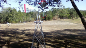 8' Decorative Windmill